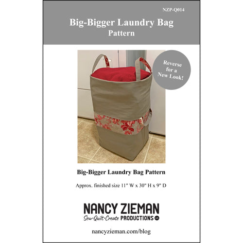 NEW! Big-Bigger Laundry Bag Pattern