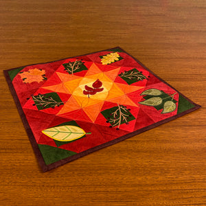 NEW! Exclusive Quick Quilting in the Hoop: Fall Leaves Wall Hanging Bundle Box