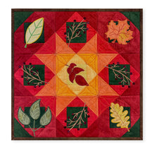 Load image into Gallery viewer, NEW! Exclusive Quick Quilting in the Hoop: Fall Leaves Wall Hanging Bundle Box