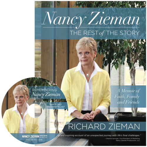 Nancy Zieman, the Rest of the Story Book with DVD
