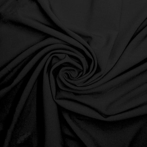 NEW! Black Ponte Knit Fabric