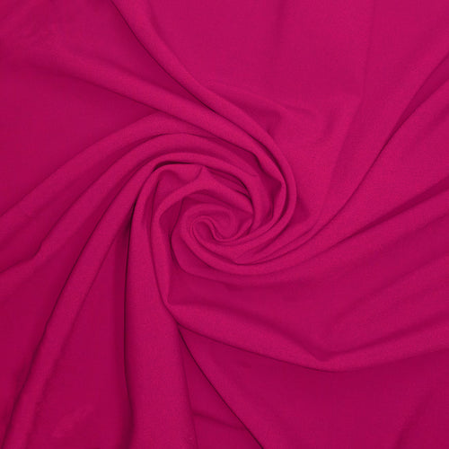 NEW! Fuchsia Ponte Knit Fabric by the Yard