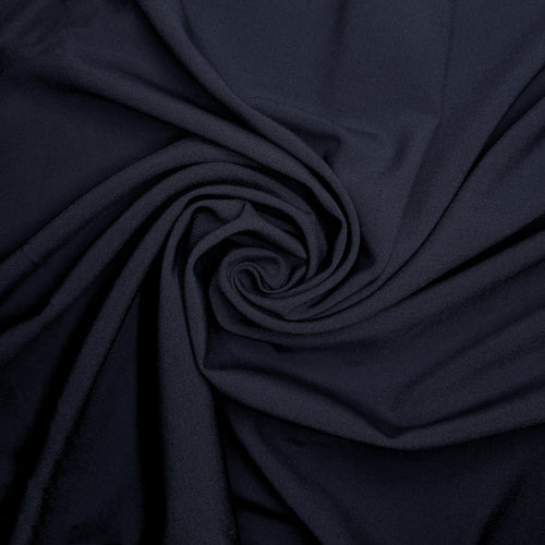 NEW! Dark Navy Ponte Fabric By the Yard