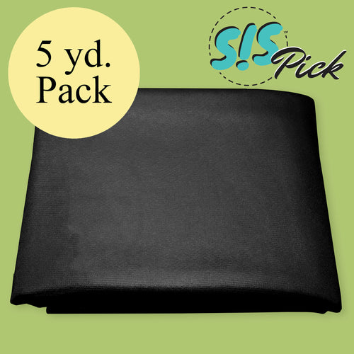 Black Easy-Knit Interfacing, 5 yd. Pack