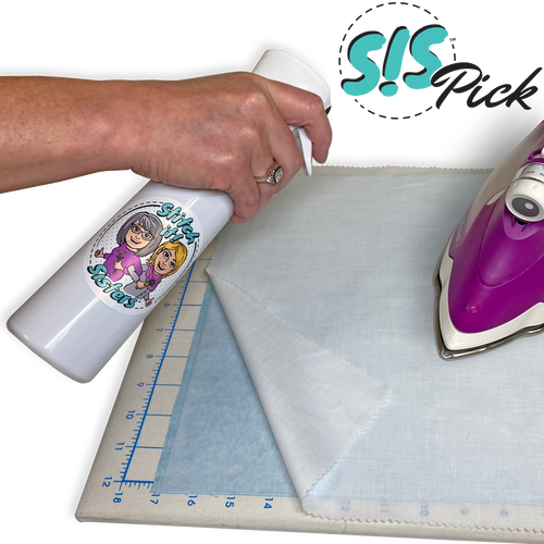 NEW! Exclusive S!S Spray Mist Bottle & Eze-View Pressing Cloth Set