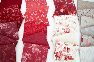 NEW! Red Elegance Fat Quarter Bundle