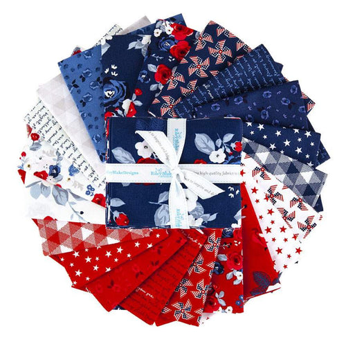 NEW! Land of Liberty Fabric Fat Quarter Bundle