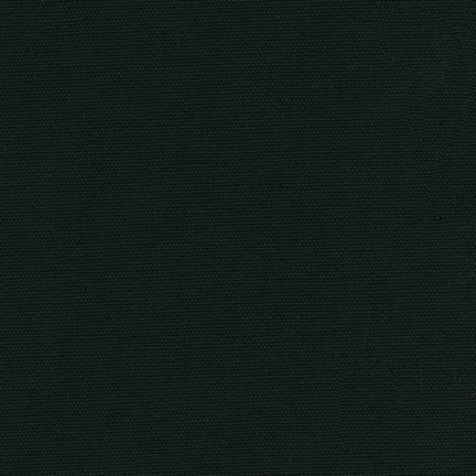 NEW! Black Cotton Canvas Fabric