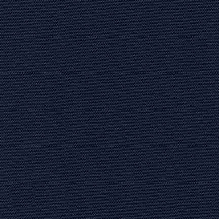 NEW! Navy Cotton Canvas Fabric