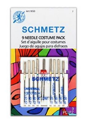 NEW! Costume Combination Needle Pack Assortment, 9 pc.