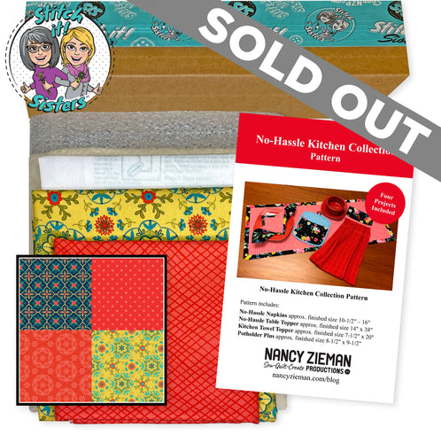 NEW! Exclusive Red Wildflower Boutique No-Hassle Potholder Plus and Towel Topper Bundle Box