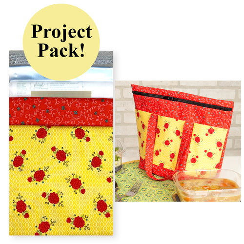 NEW! Exclusive Wildflower Boutique Insulated Lunch Tote Project Pack