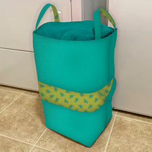 Load image into Gallery viewer, NEW! Exclusive Green Wildflower Boutique Big-Bigger Laundry Bag Bundle Box
