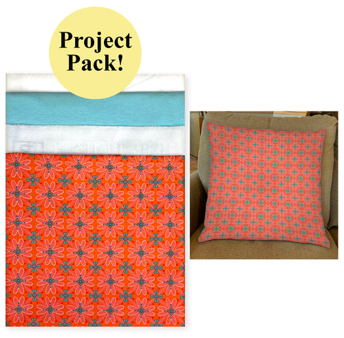 NEW! Exclusive Coral Wildflower Boutique Palette Pillow Project Pack