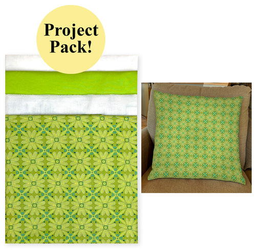 NEW! Exclusive Green Wildflower Boutique Palette Pillow Project Pack