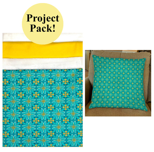 NEW! Exclusive Teal Wildflower Boutique Palette Pillow Project Pack