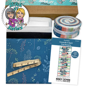 I Sew For Fun Growth Chart Wall Hanging Bundle Box