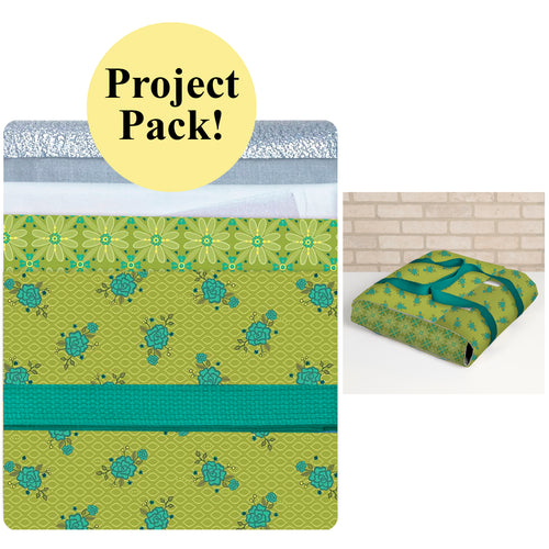 NEW! Exclusive Wrap It Up! Casserole Carrier Project Pack—Green & Teal