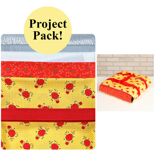 NEW! Exclusive Wrap It Up! Casserole Carrier Project Pack—Yellow & Red