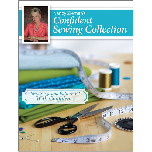 Nancy Zieman's Confident Sewing Collection Book
