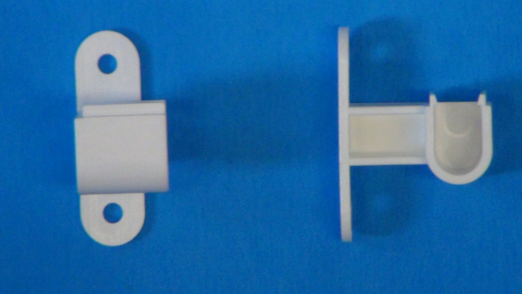 Plastic Outside Mount Bracket