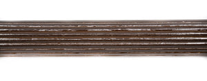 "Victorian 1 3/8"" Wood Fluted Poles"