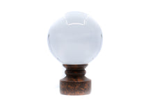Load image into Gallery viewer, Crystal Ball Finial