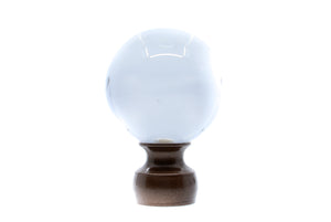 Crystal Ball Finial