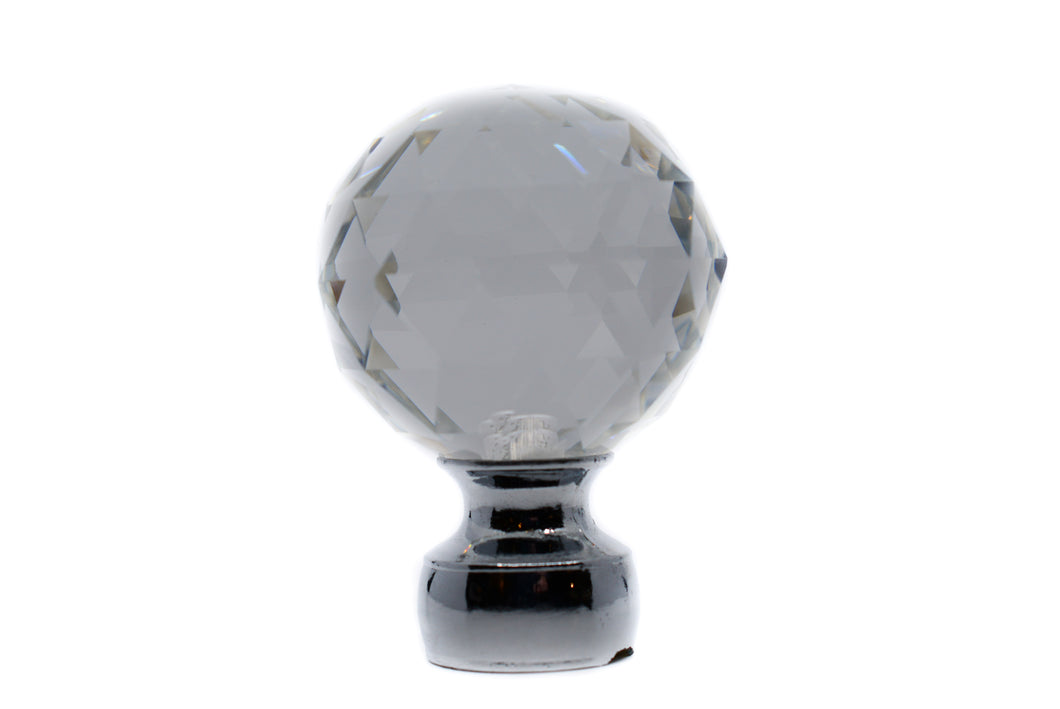 Triangle Crystal Finial