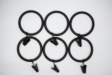 "Load image into Gallery viewer, 1 3/4"" Steel Rings With Clips"