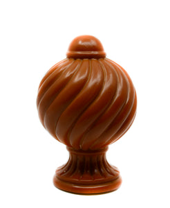 Button Ball Resin Finial