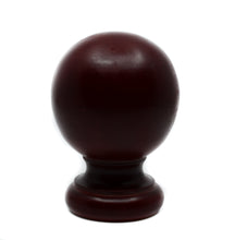 Load image into Gallery viewer, Wood Ball Finial