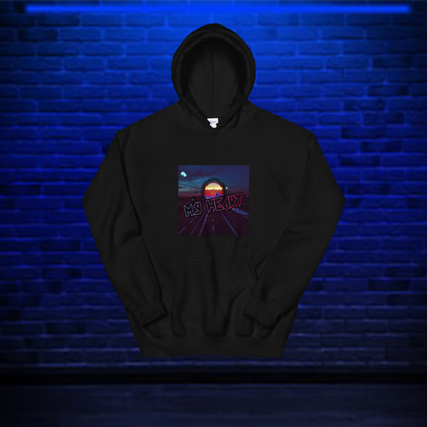 My Heart hoodie by Bryan Dallas