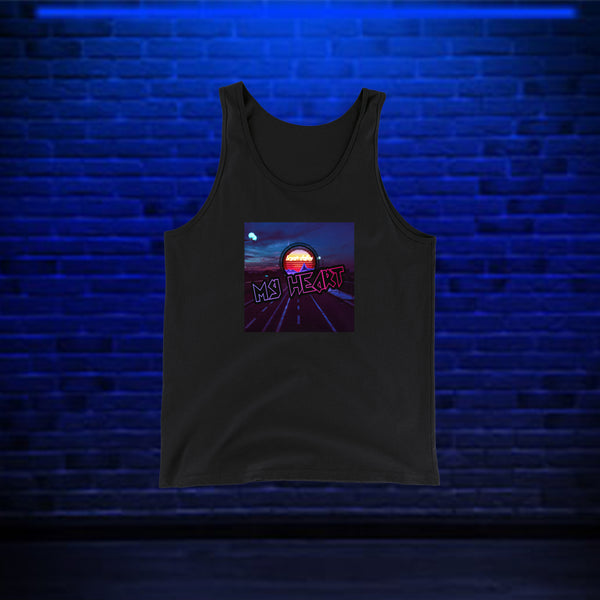 My Heart Tank Top by Bryan Dallas