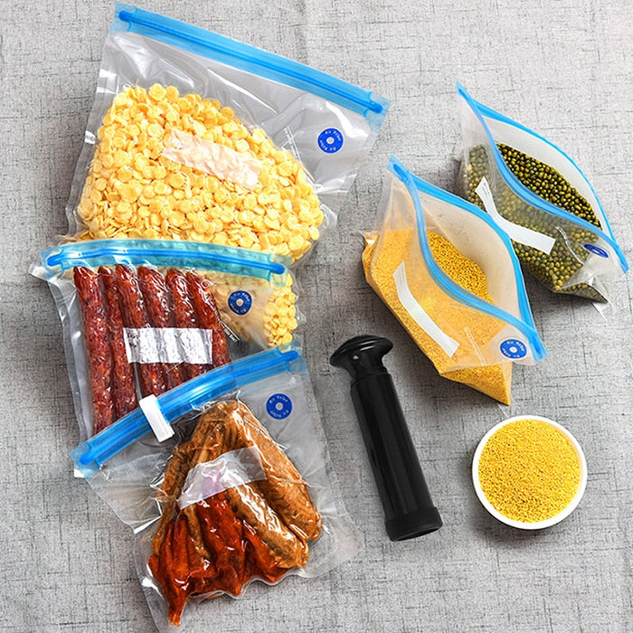 Vacuum Sealer Zipper Bags kit