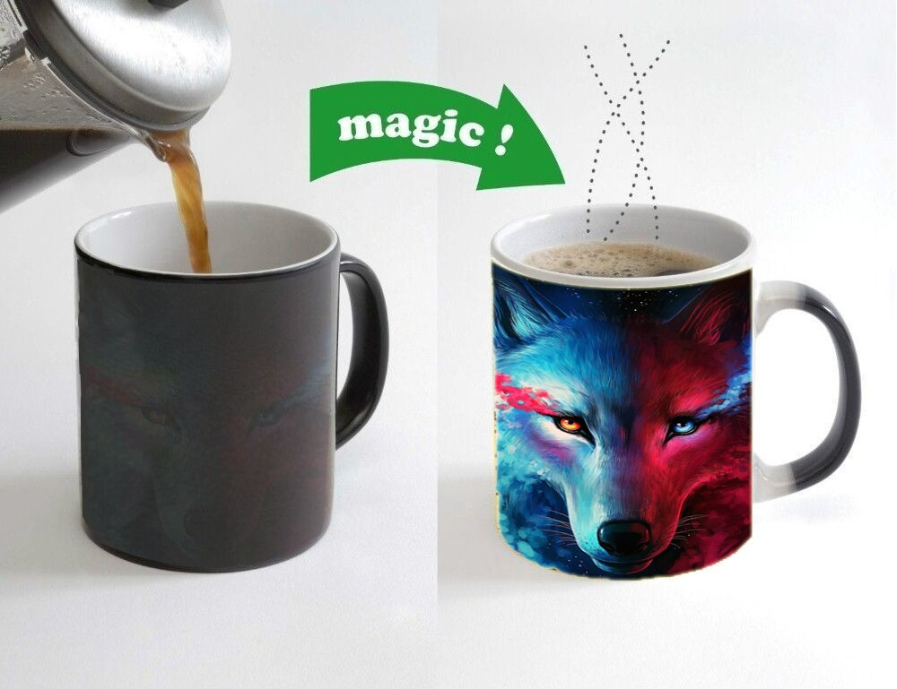 Personalized Magic Heat Sensitive Ceramic Mugs