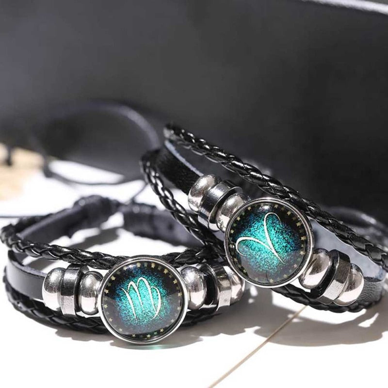 Zodiac punk Luminous Bracelet