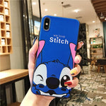 Stitch Lanyard foothold samsung galaxy Phone Case.