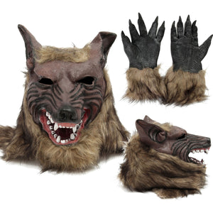 Wolf Head Hair Mask
