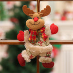 Santa Claus Snowman Tree Toy