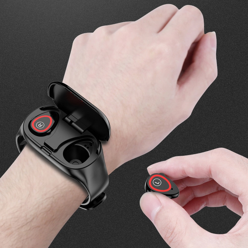 2-in-1 health Smart Watch with trackbuds