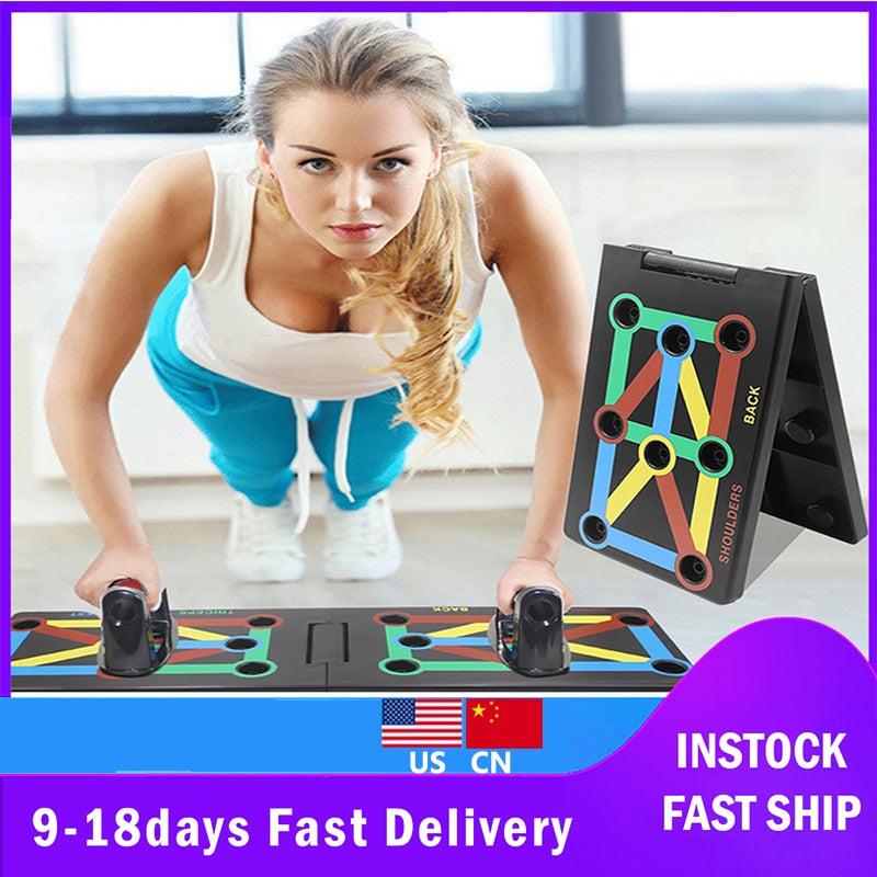 9 in 1 Push Up Rack home gym