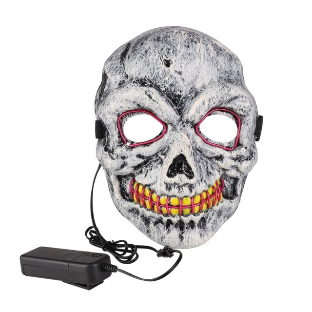 Haunted Halloween Led Mask