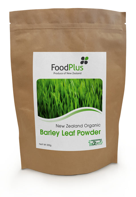 Foodplus Organic Green Barley Leaf Powder 200g **