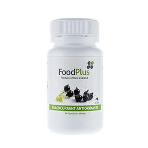 1 Month Supply: Foodplus Blackcurrant Extract Capsules 60's x 500mg
