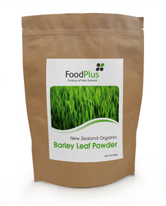 Foodplus Organic Green Barley Leaf Powder 500g **