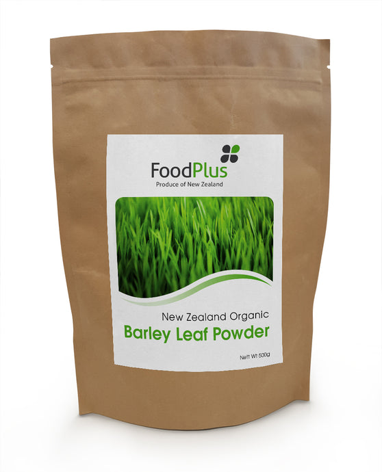 Foodplus Organic Green Barley Leaf Powder 500g
