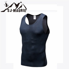 Load image into Gallery viewer, SJ-Maurie Sleeveless Quick-drying Men Sports T-shirt Gym Clothing Compression Tights Gym Vest Top for Summer Men's Running Vest