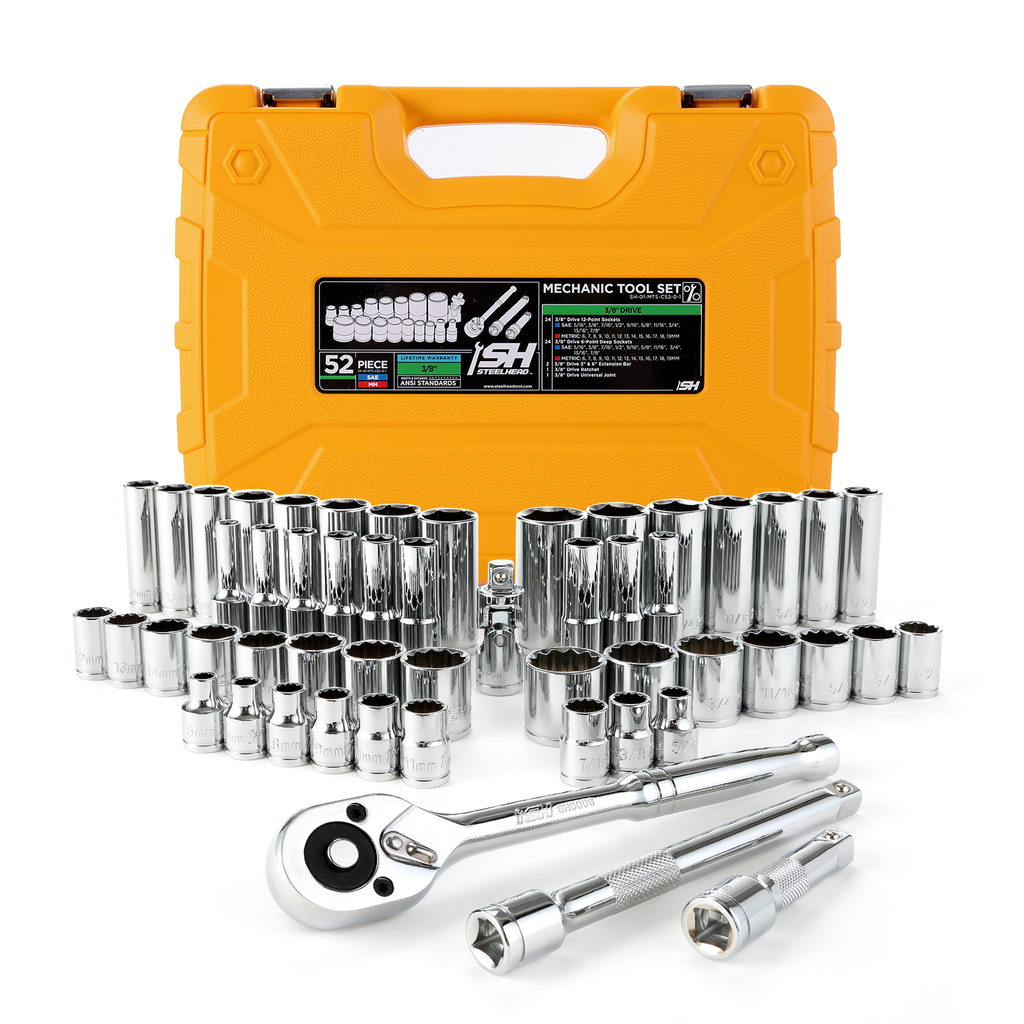 Mechanics Tool Set - ANSI (52-Piece)