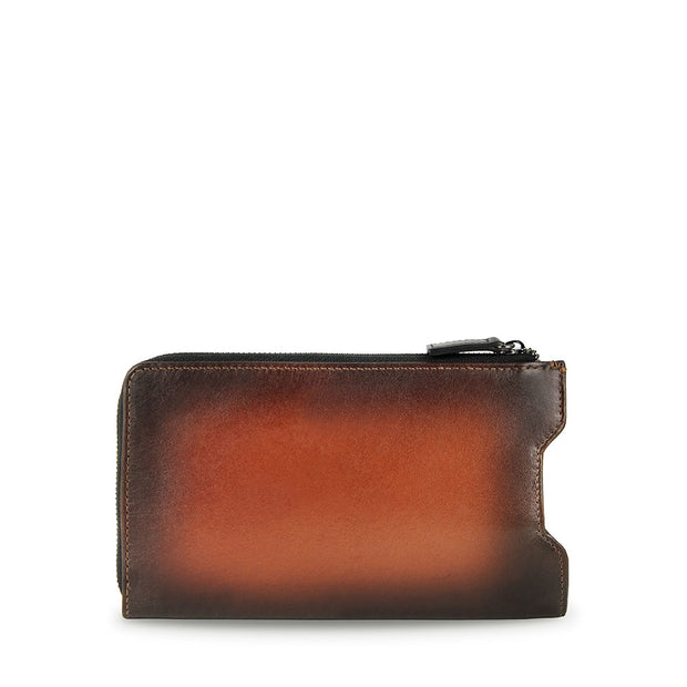 Arthur Leather Pouch For Mobile (Cafe)